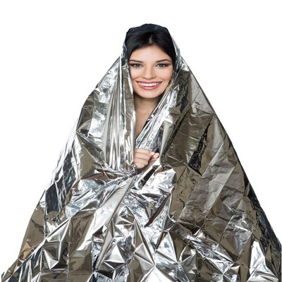 Outdoor Waterproof Emergency Survival Rescue Foil Blanket - image  on https://www.wild-survivor.co.uk
