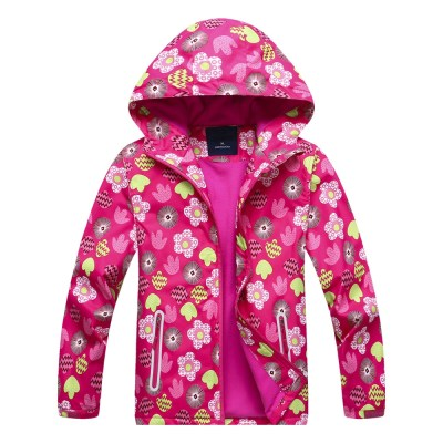 Fashion Waterproof Sports Hooded Kid's Windbreaker - image  on https://www.wild-survivor.co.uk