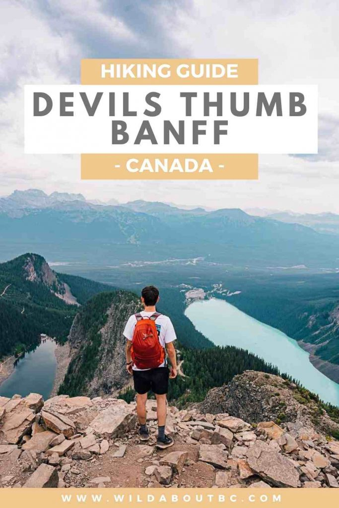 Along the 4th of july road and along the devils thumb. The Devils Thumb Lake Louise Wild About Bc