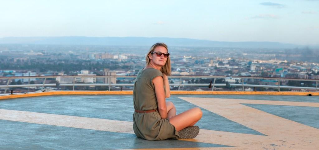 Foto von Svenja auf Helikopterlandeplatz