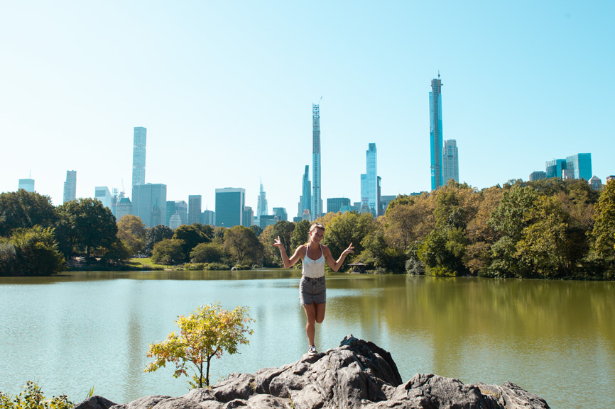 Foto vom Central Park in New York