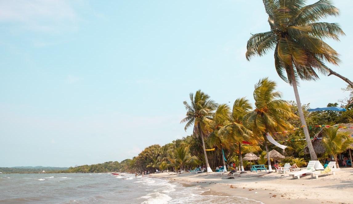 Strand Playa Blanca in Guatemala