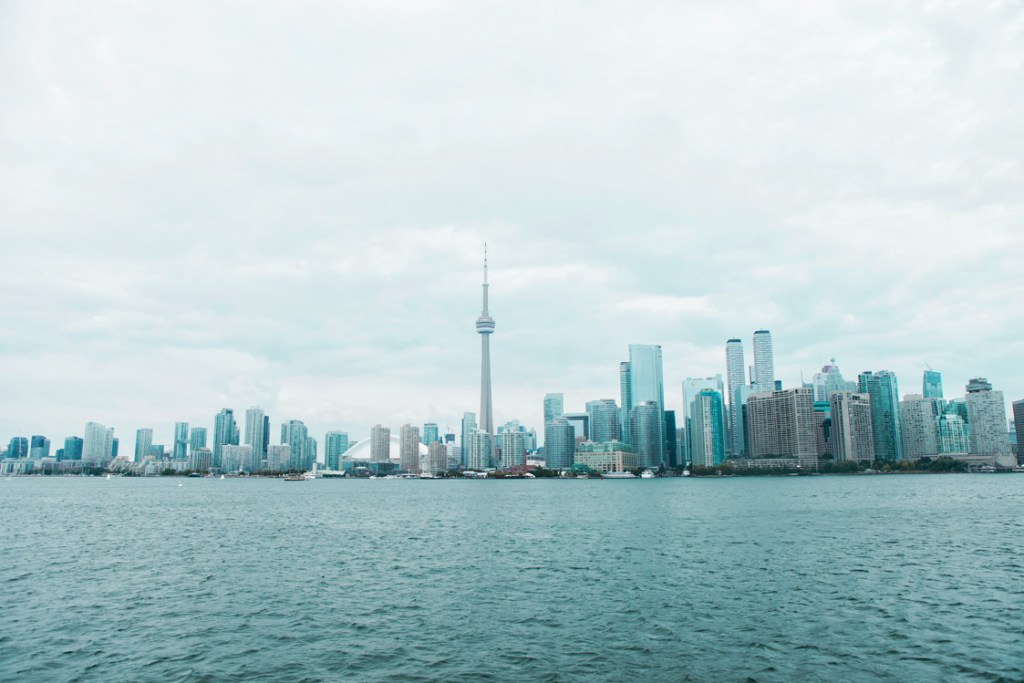 Foto der Skyline von Toronto