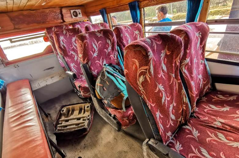 Kuba Bus für Einheimische