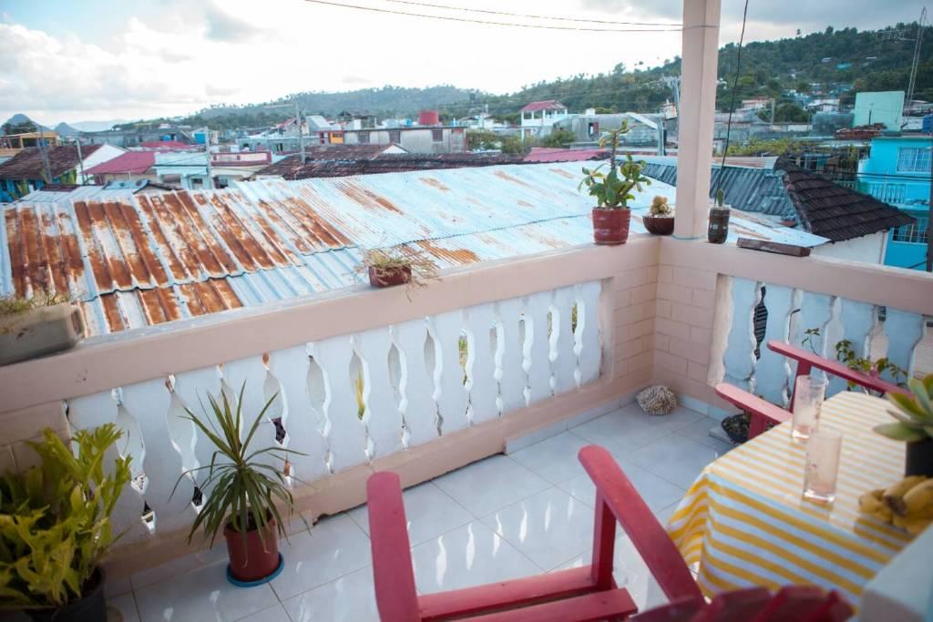 Kuba Casa Particulares Balkon