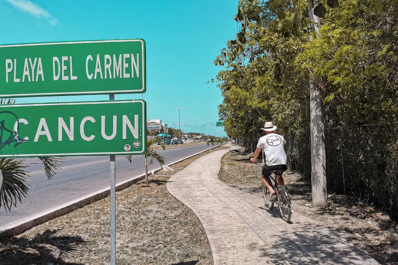 Fahrradtour in Tulum