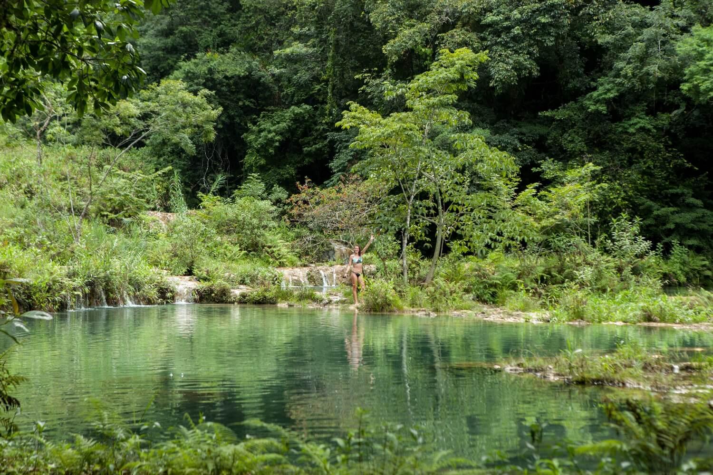 Auswandern Guatemala beim Semuc Champey