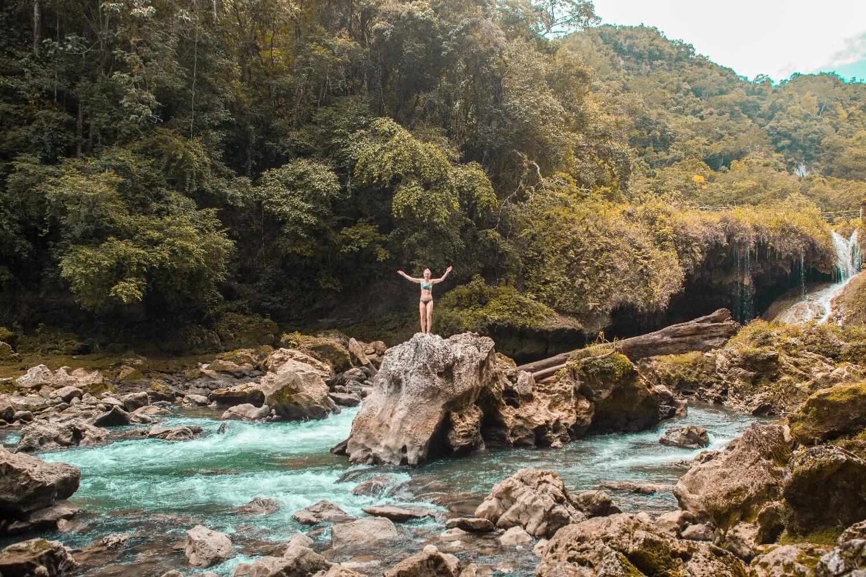 Auswandern Guatemala Nationalpark Semuc Champey