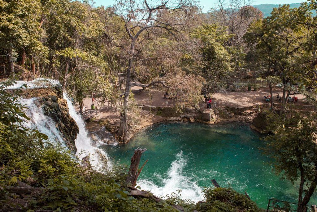 Las Cascadas de Tamasopo Aussichtspunkt