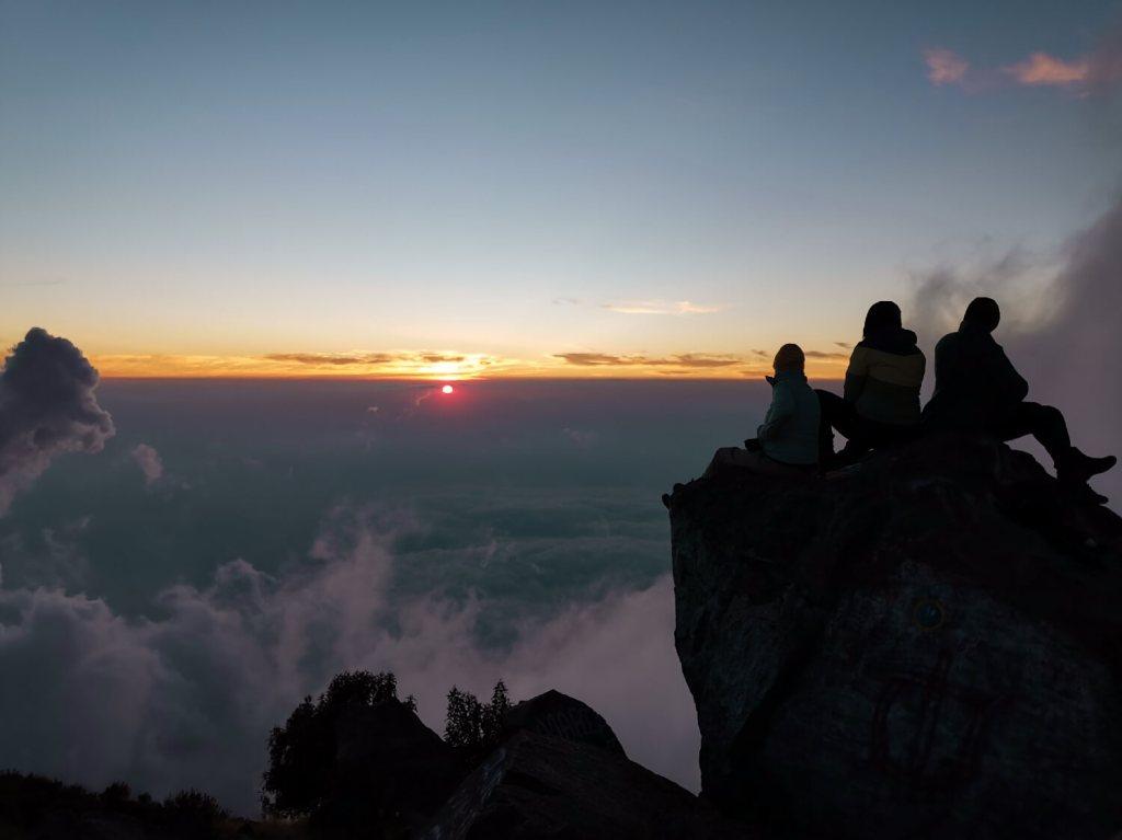Ausblick Sonnenaufgang