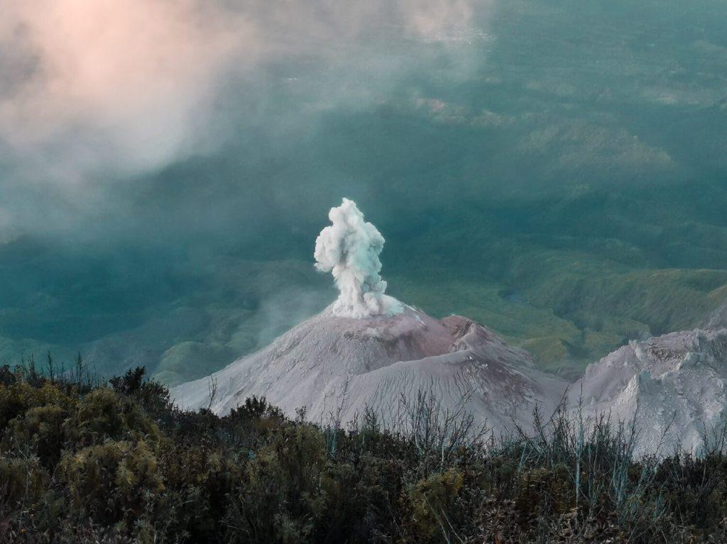 Vulkan Krater