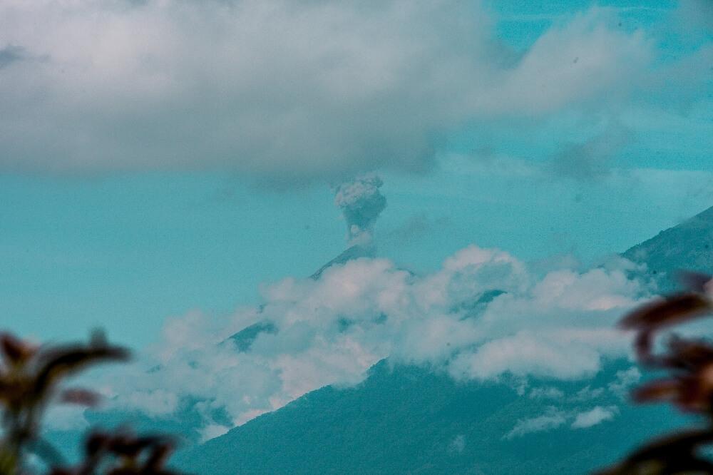 1,5 Jahre in Guatemala Vulkan Aussicht Fuego
