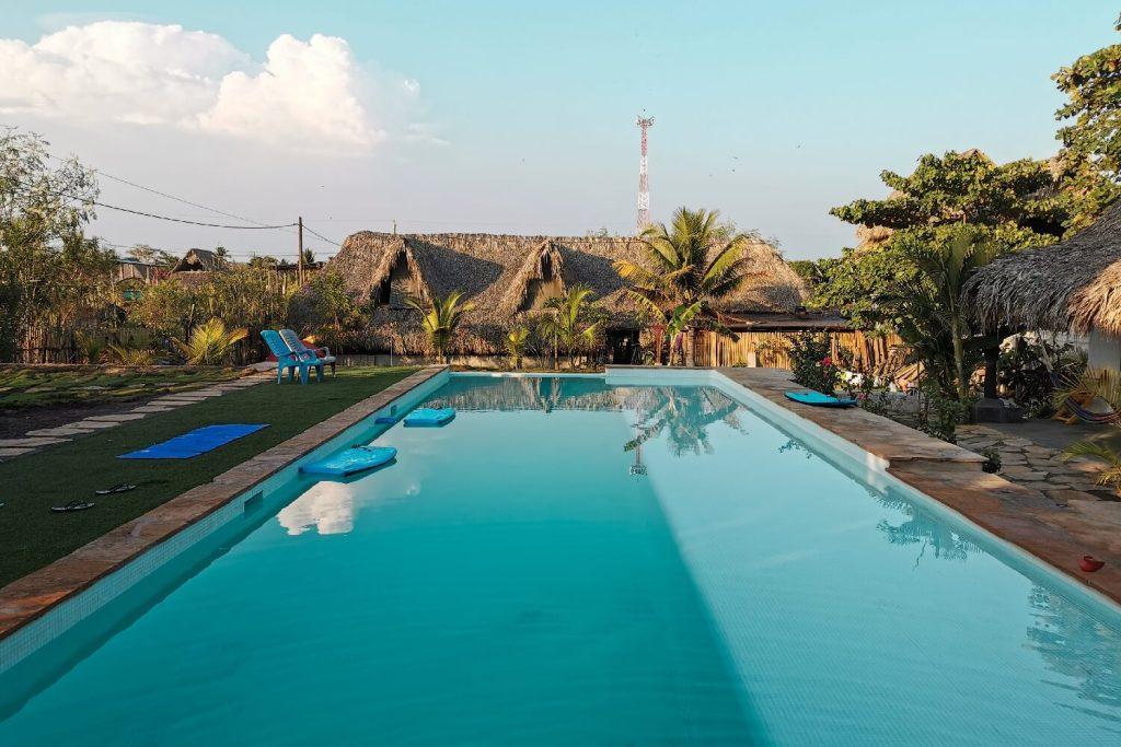 Auswandern Guatemala Pool