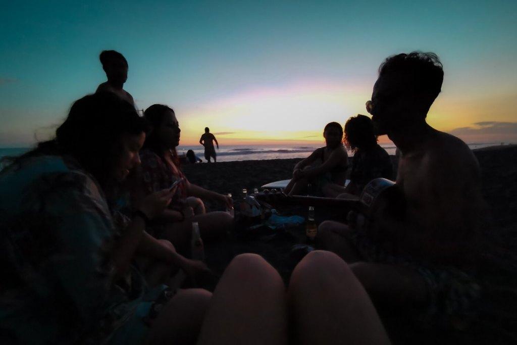 Auswandern Guatemala Strand
