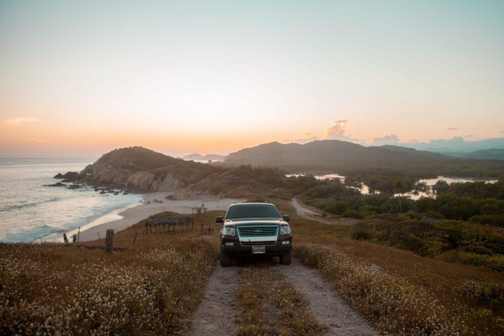 Strände von Oaxaca Jeep