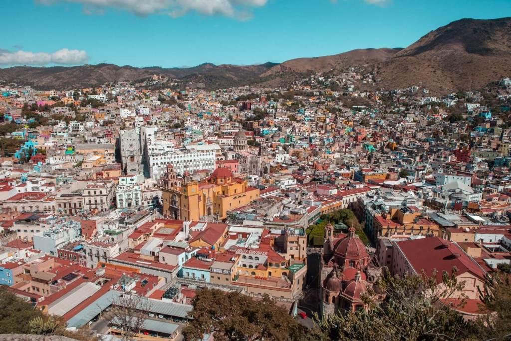 Guanajuato in Mexiko Ausblick