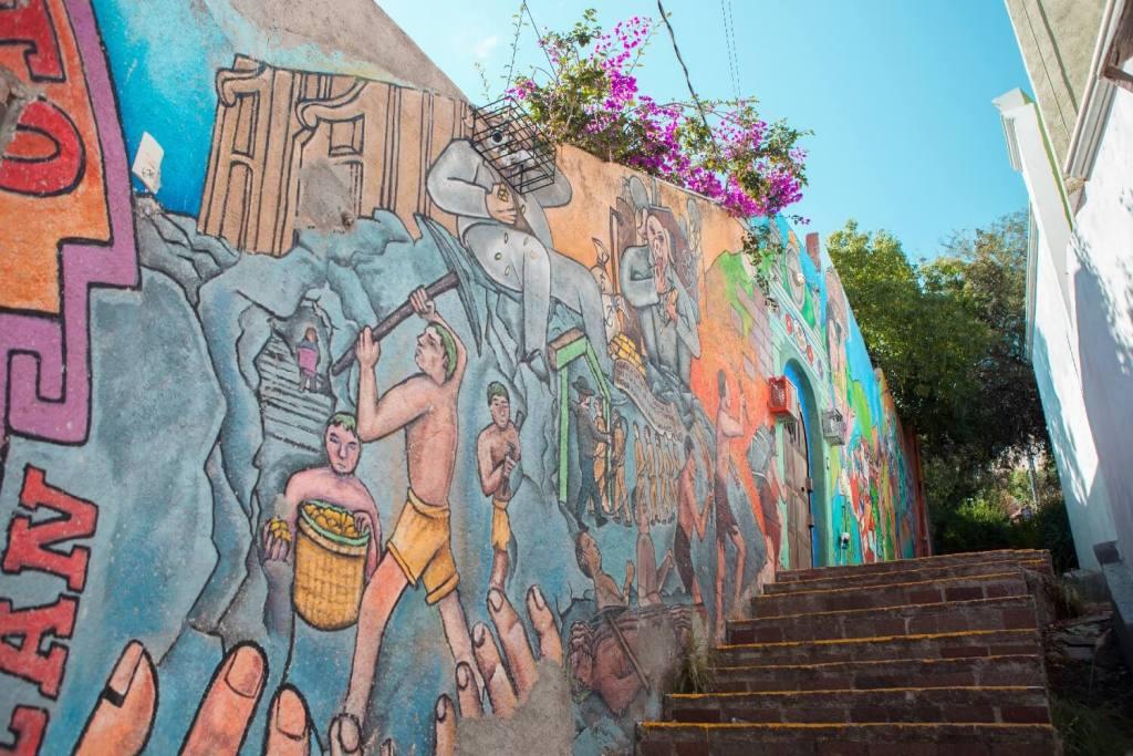 Guanajuato Bergbauarbeiter Bild