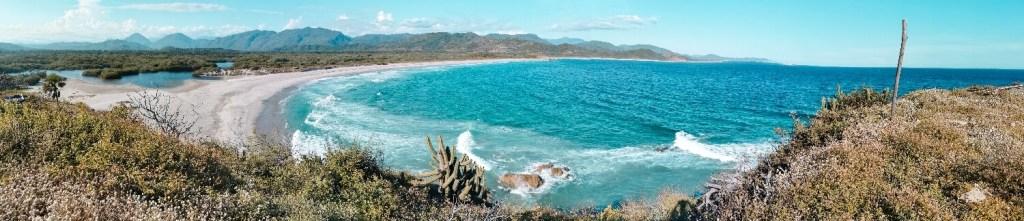 Strände von Oaxaca Playa Secret