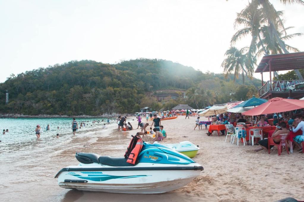 Strände von Oaxaca Playa Huatulco