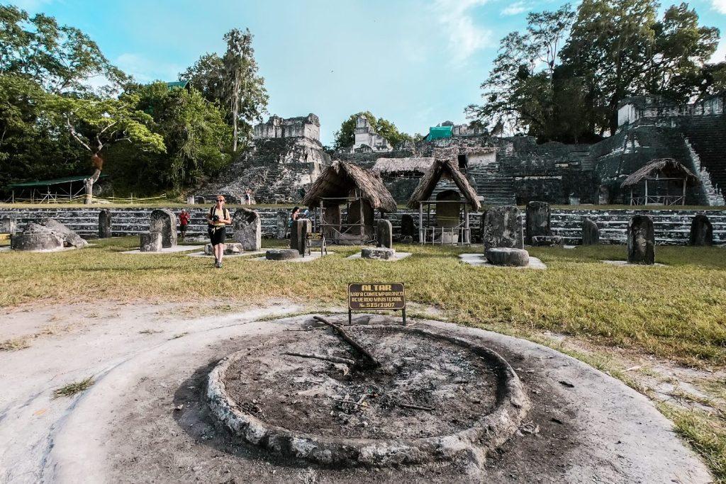 Tikal in Guatemala Grande Placa