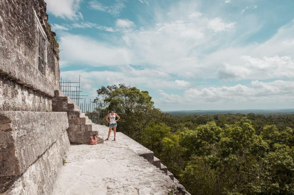 Tikal in Guatemala Tempel IV