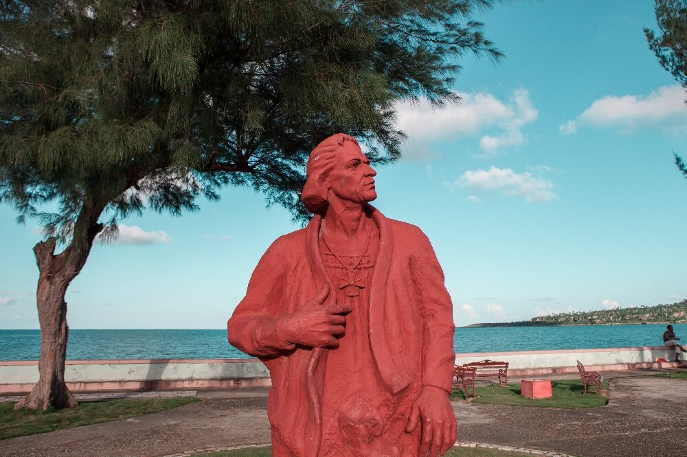Christoph Columbus in Baracoa