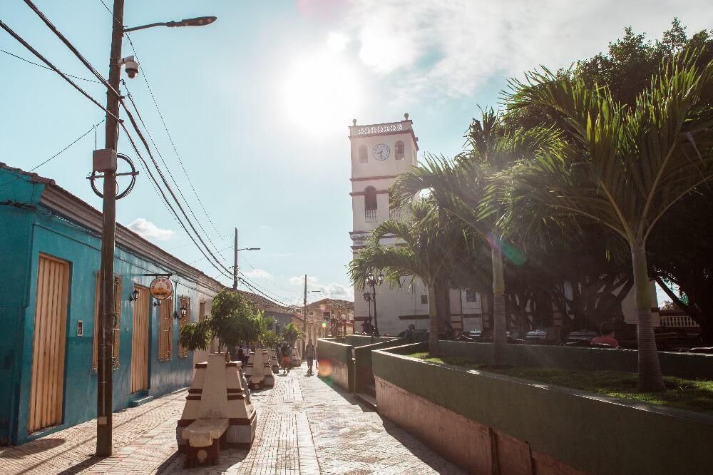 Straßen von Baracoa in Kuba