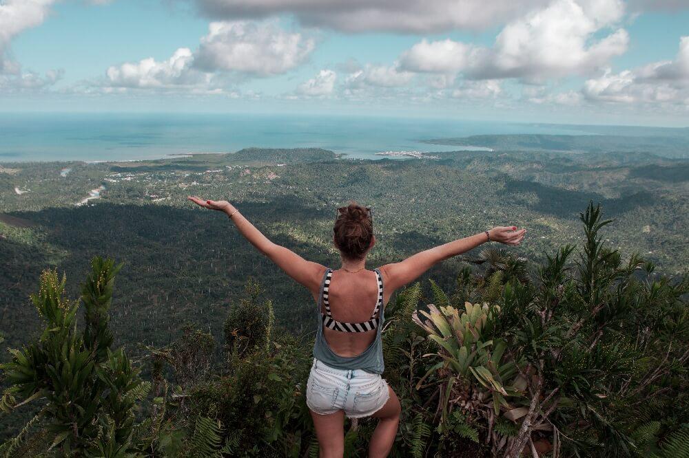 Aussicht vom El Yunque