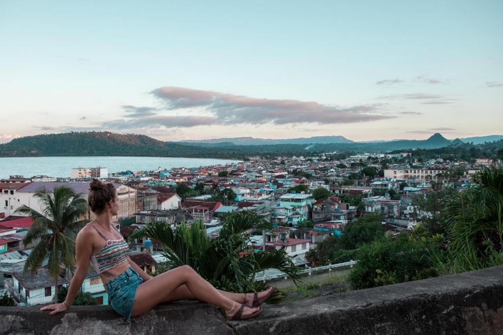 Baracoa in Kuba Aussicht