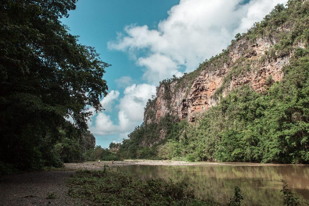 Yumuri Fluss in Baracoa in Kuba