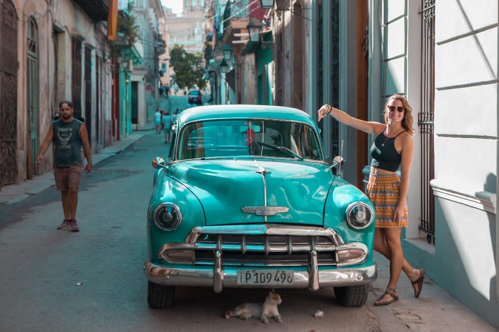 Reiseroute 3 Wochen Kuba Oldtimer