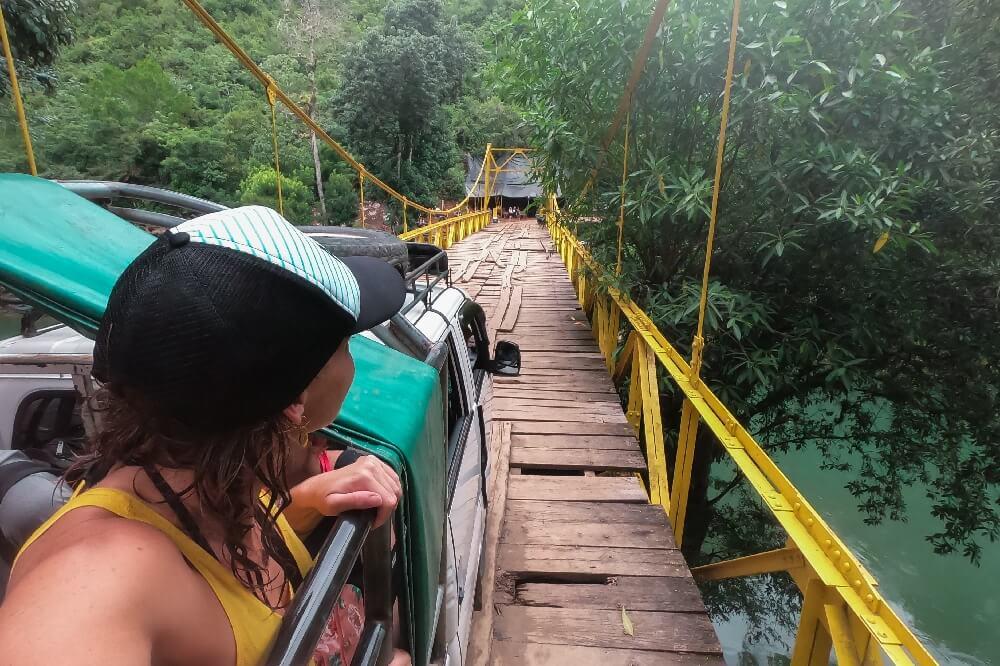 Kaputte Brücke
