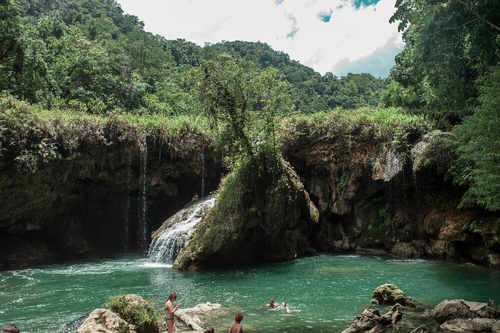 Wasserfall von Semuc Champey