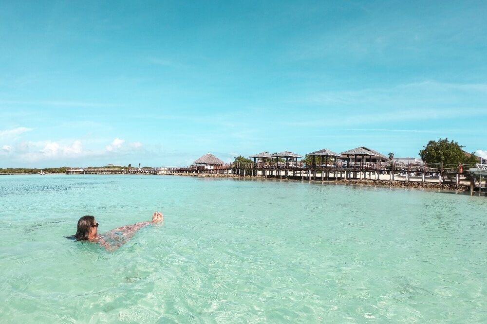 Hotel Playa Pilar Ausblick