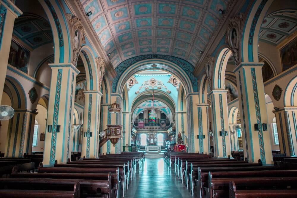 Kathedrale Santiago de Cuba von innen