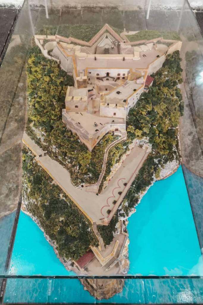 Castillo el Morro Santiago de Cuba Übersicht