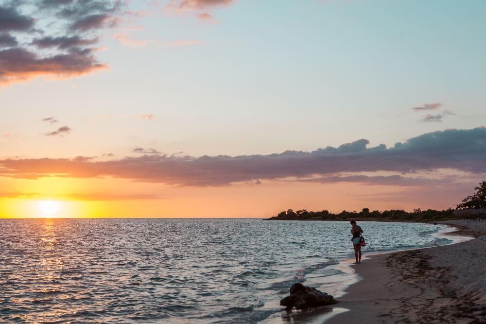 Playa Ancon Sonnenuntergang