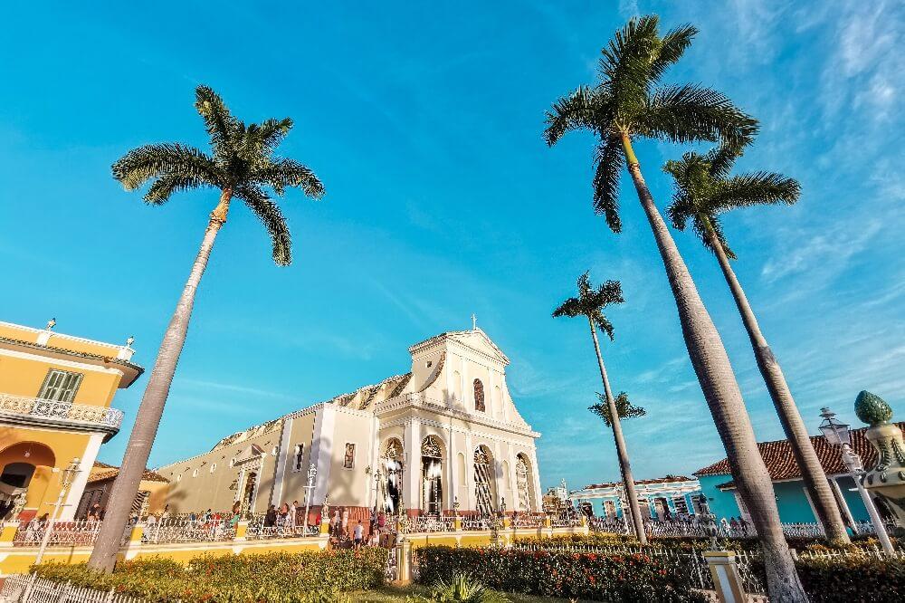 Trinidad in Kuba Plaza Mayor