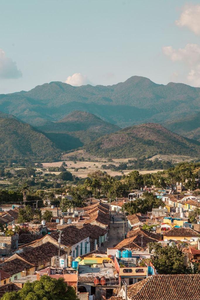 Ausblick über Trinidad in Kuba