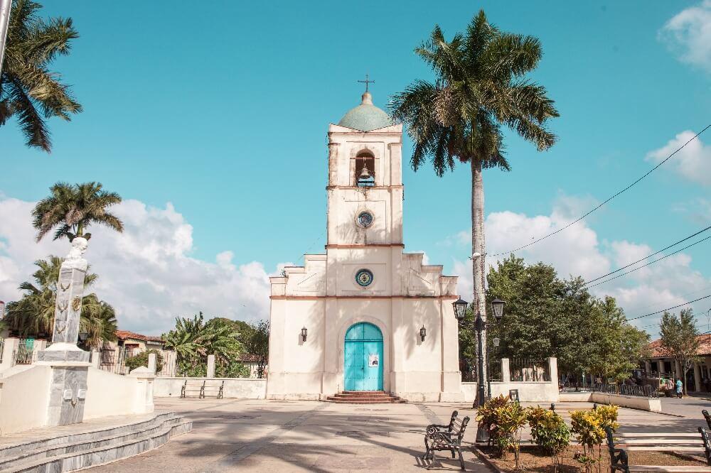 Kirche in Vinales in Kuba