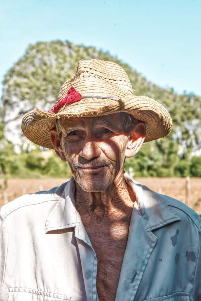 Farmer in Vinales