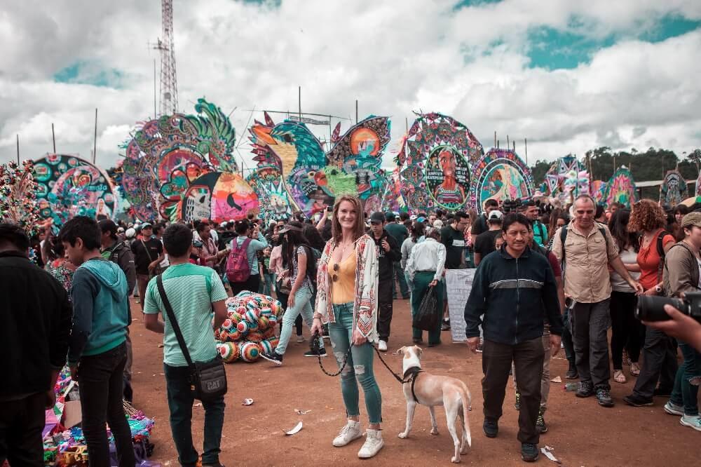 Drachenfest in Guatemala Caipi