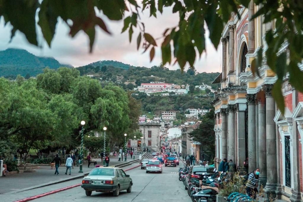Hauptplatz Quetzaltenango in Guatemala