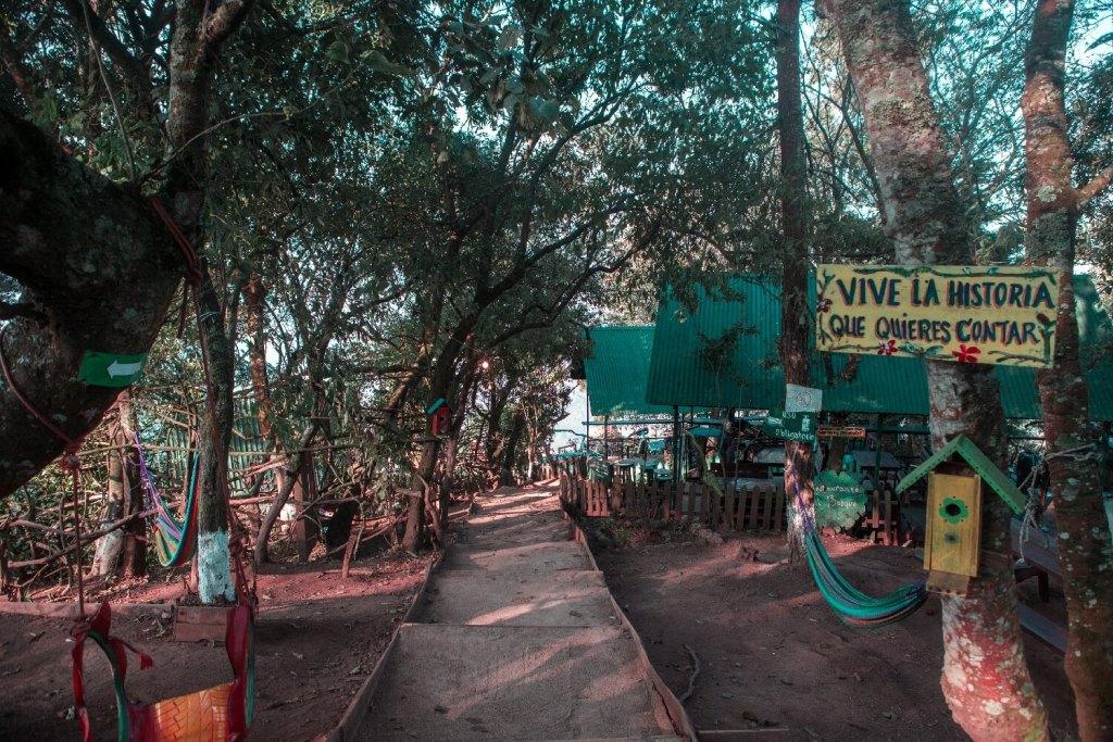 Das Gelände Altamira