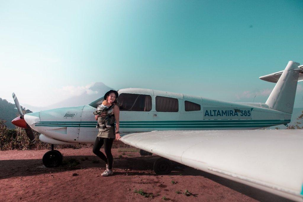 Flugzeug Altamira