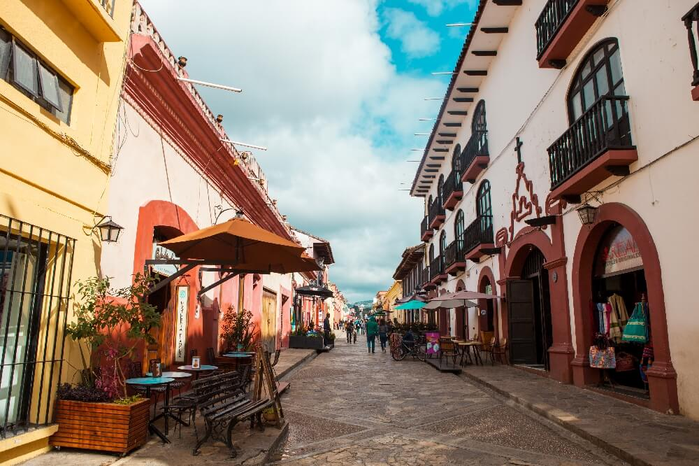 Fußgängerstraße Real de Guadalupe