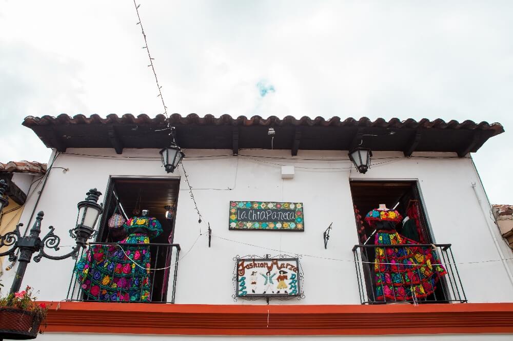 San Cristobal de las Casas Shoppingstraße