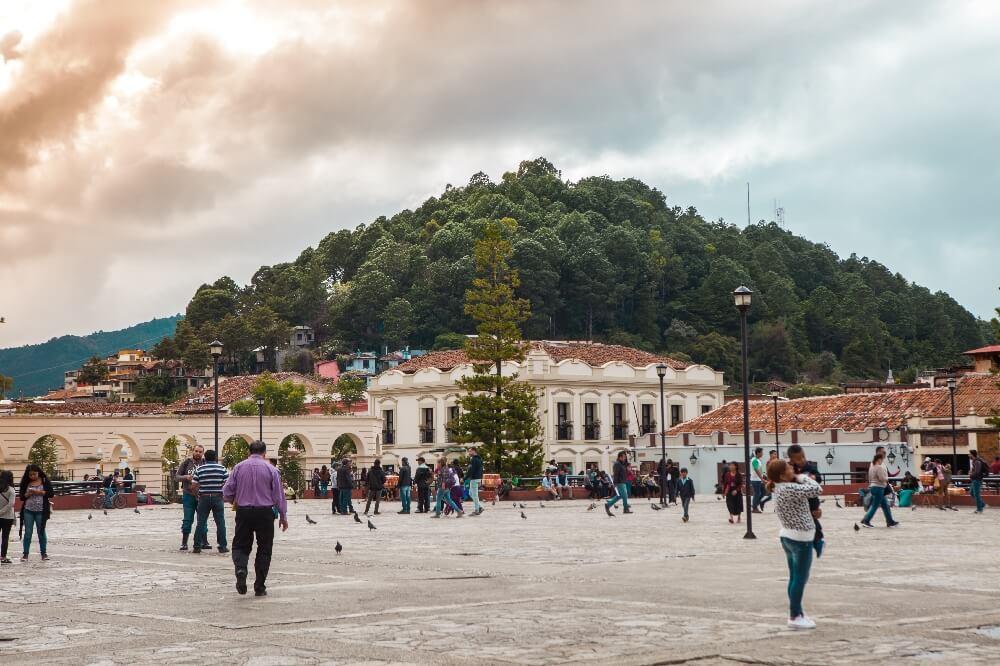 San Cristobal de las Casas Hauptplatz