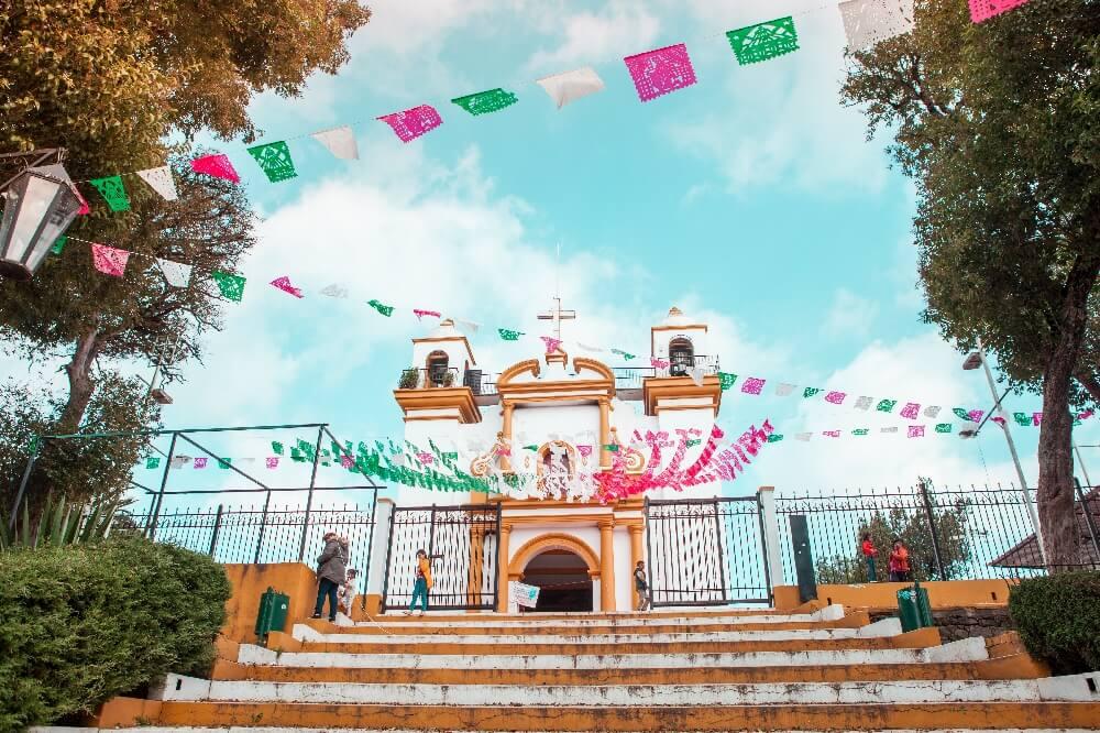 San Cristobal de las Casas Kirche Guadalupe