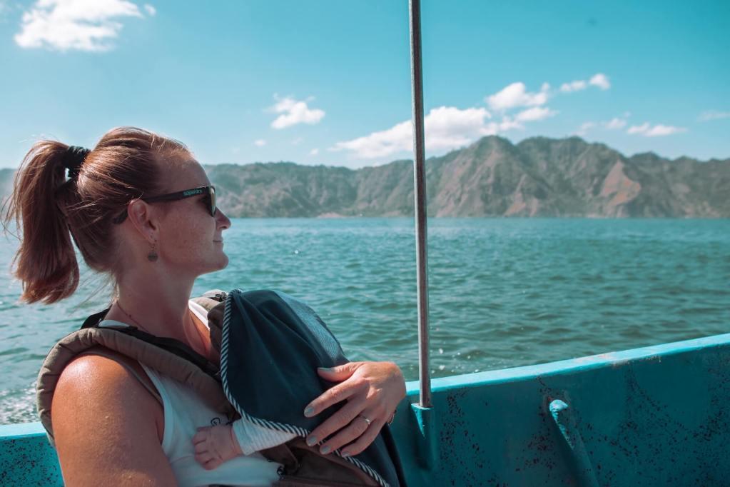 Reisen mit Zwillingen im Boot